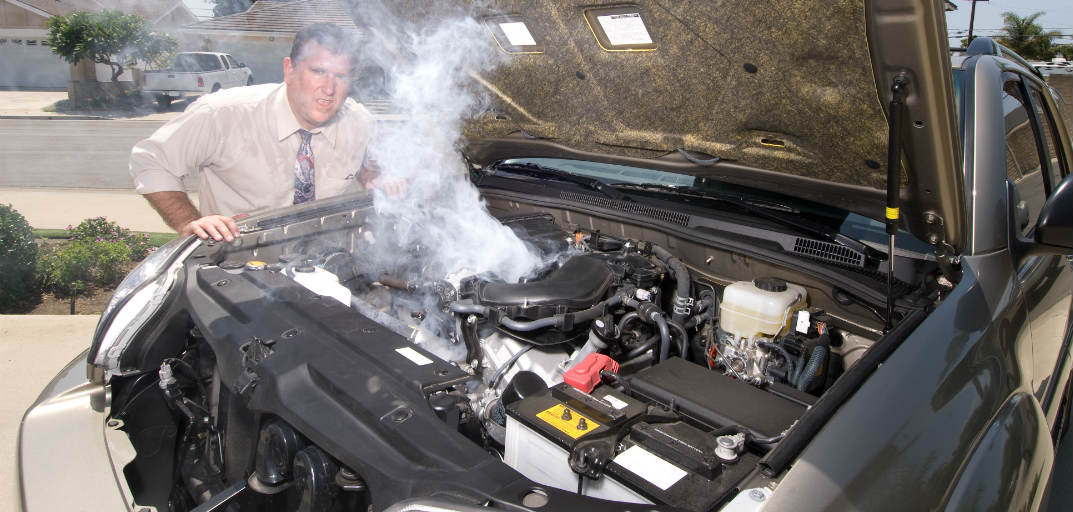 5 Easy steps to keep your engine from overheating