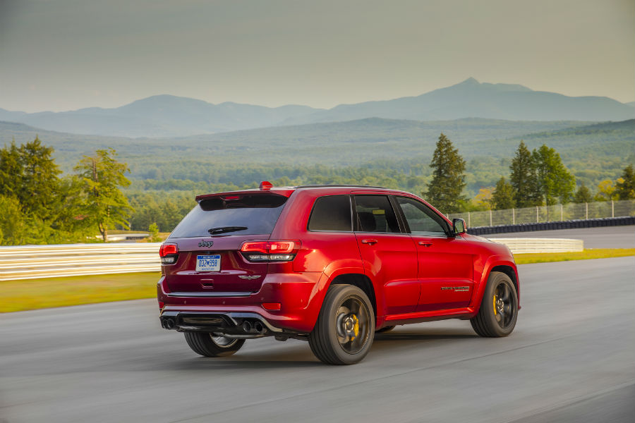 The latest connectivity technology is standard in the trackhawk