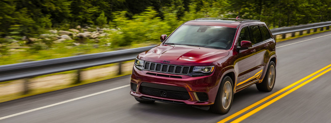 What is the 2018 Jeep Grand Cherokee Trackhawk?