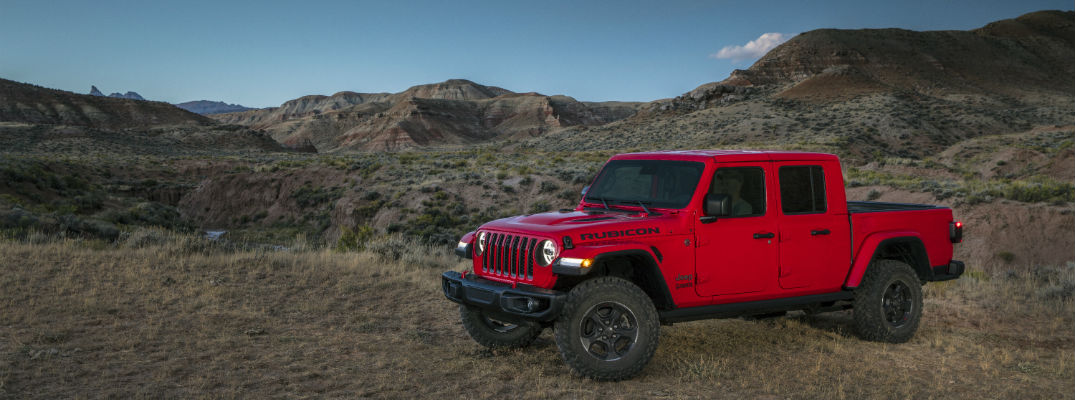 How much can the 2020 Jeep Gladiator haul?