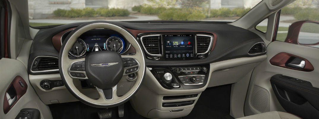 2019 Pacifica ranks at the top of the segment with connectivity options
