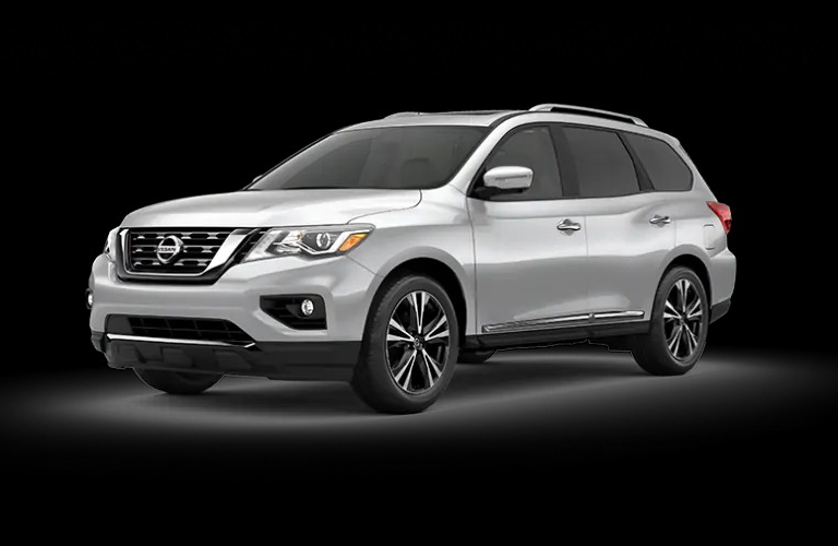 2020 Nissan Pathfinder Brilliant Silver Metallic