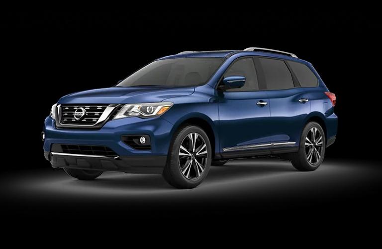 2020 Nissan Pathfinder Caspian Blue Metallic