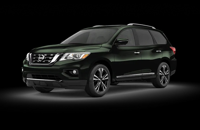 2020 Nissan Pathfinder Midnight Pine Metallic