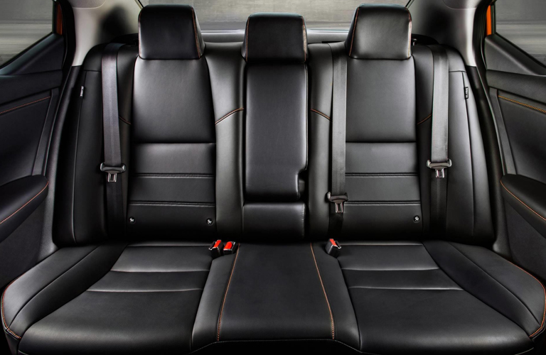 Back Seats of the 2020 Nissan Sentra