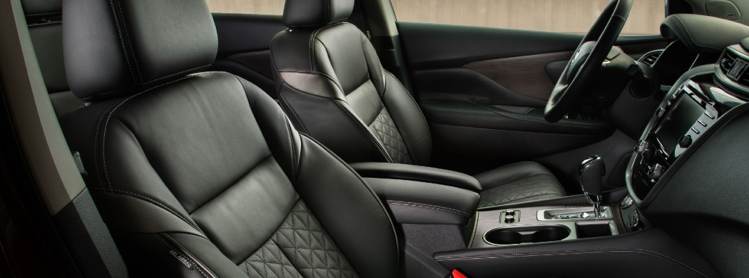 A photo of the heated front seats in the 2021 Nissan Murano.