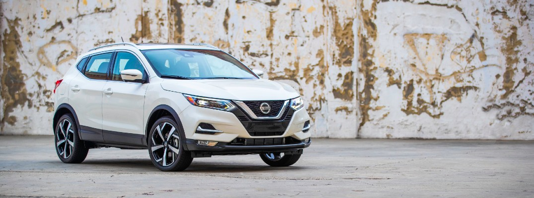 A photo of the 2021 Nissan Rogue Sport.