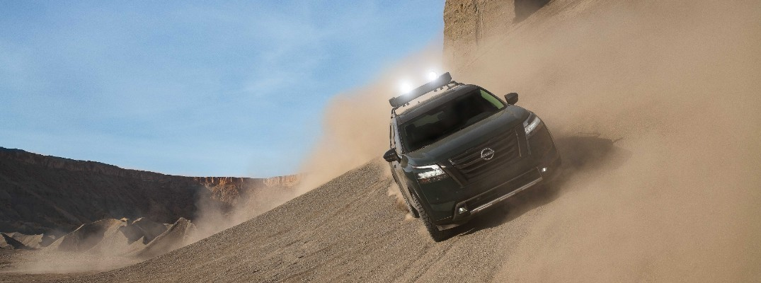 The 2022 Nissan Pathfinder can handle almost any road conditions.