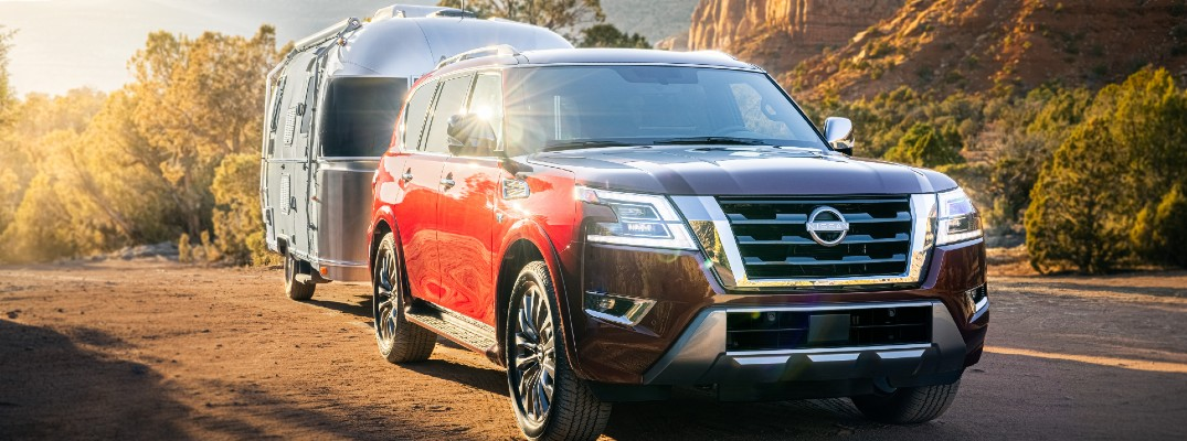 The 2021 Nissan Armada offers towing capacities close to that of pickup trucks.