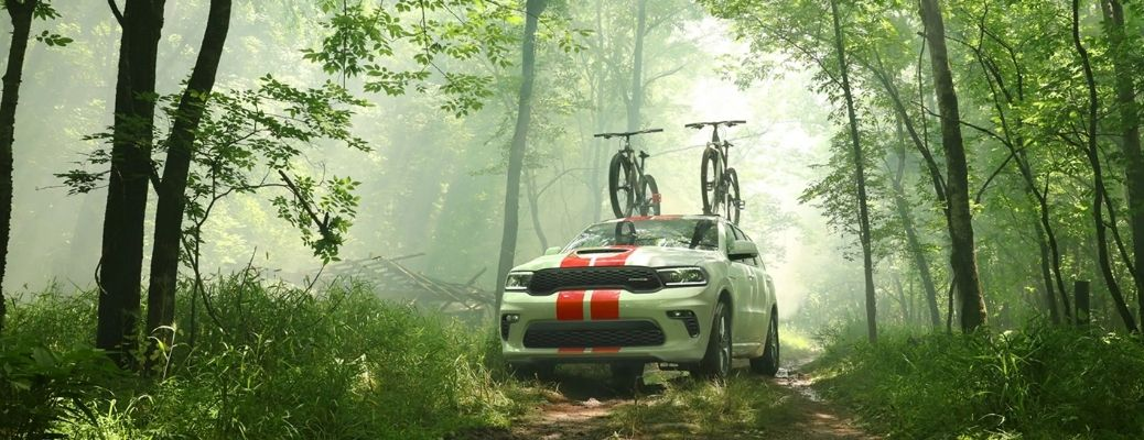 2021 Dodge Durango carrying 2 cycles. WHat is the safety rating?