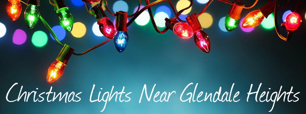 Turquoise Christmas Lights.Where To See Christmas Lights Near Glendale Heights Il