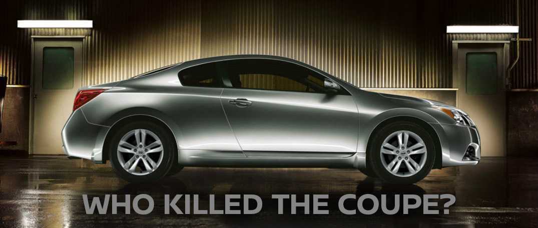 2 Door Altima >> Why Did Nissan Kill the Altima Coupe?
