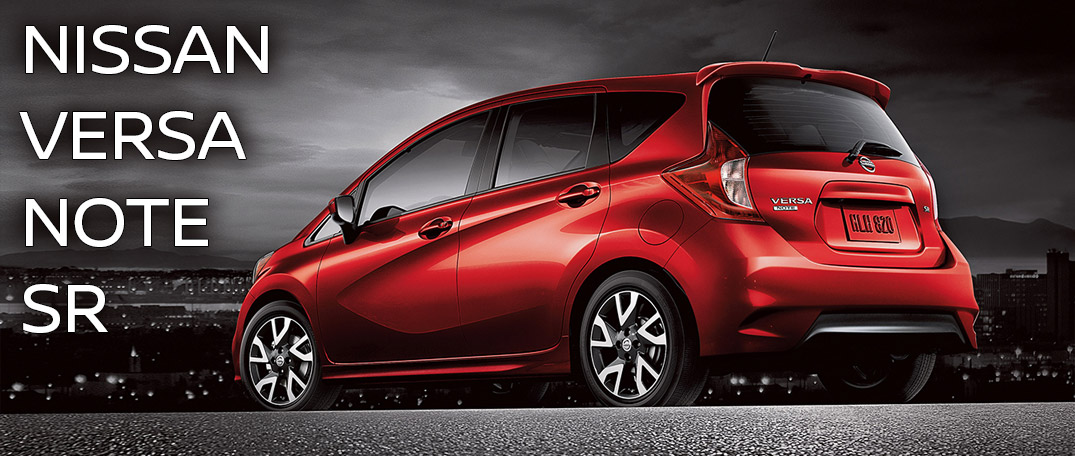 2016 nissan versa note sr sport design and details. Black Bedroom Furniture Sets. Home Design Ideas