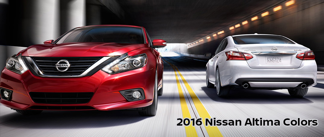 2016 Nissan Altima Exterior And Interior Color Options Glendale Nissan