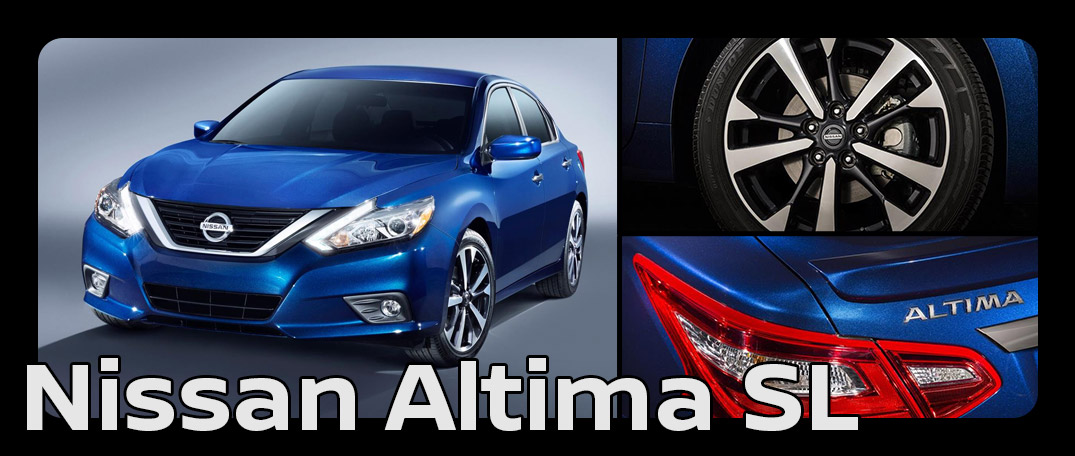 What does each 2016 Nissan Altima trim level include?