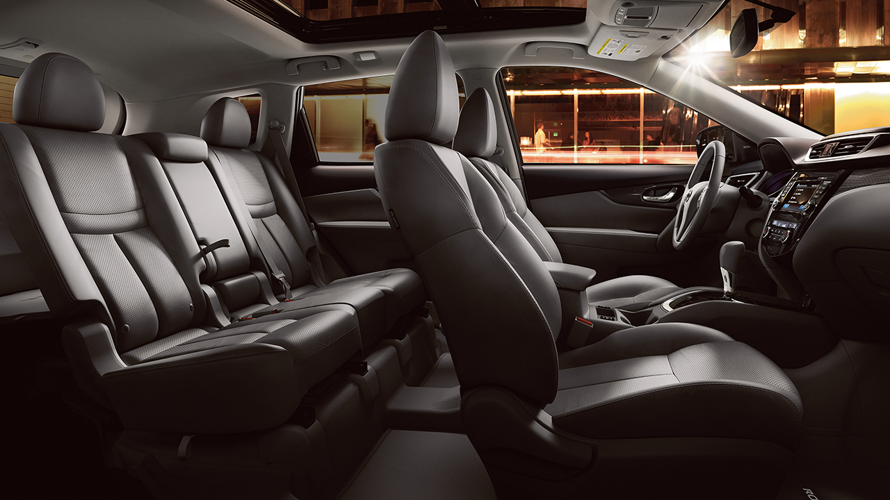 Nissan Rogue Seating >> 2016 Nissan Rogue Interior Charcoal Cloth Glendale Nissan