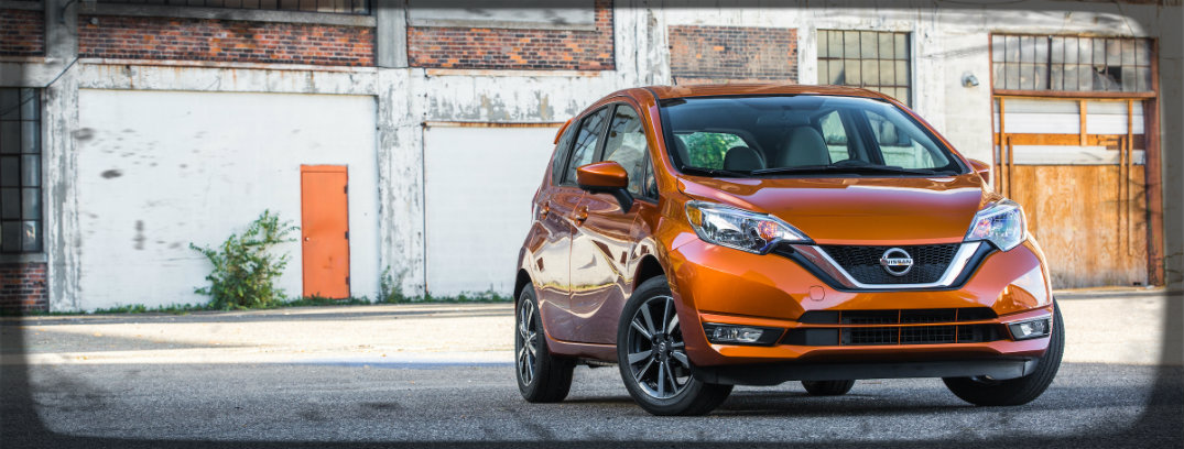 front view of nissan versa note