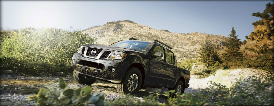off roading view 2017 nissan frontier