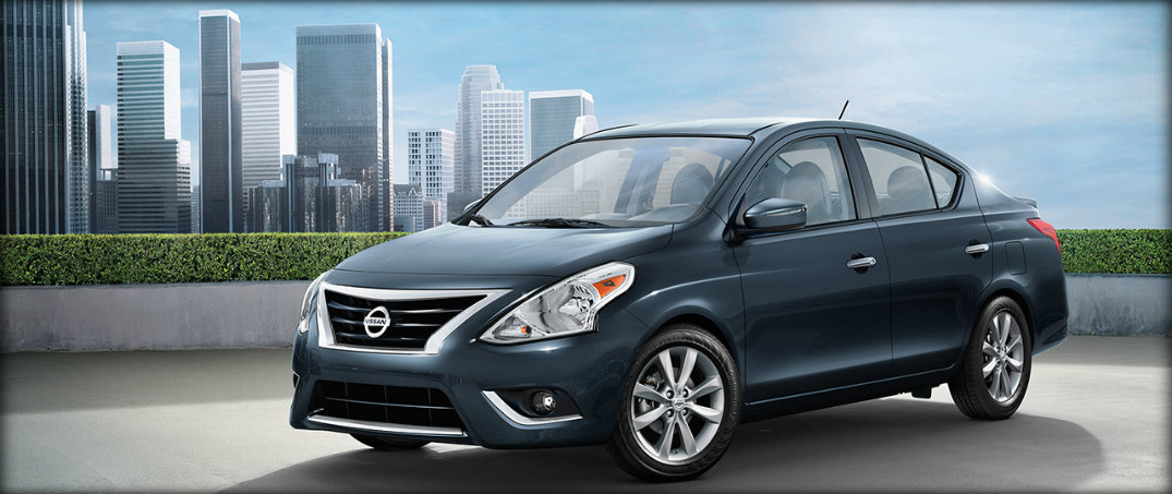 front view of 2017 nissan versa