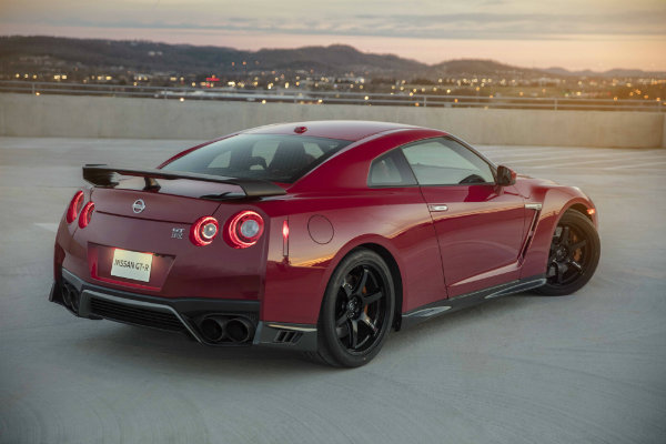 Charming 2017 Nissan GT R Track Edition Rear