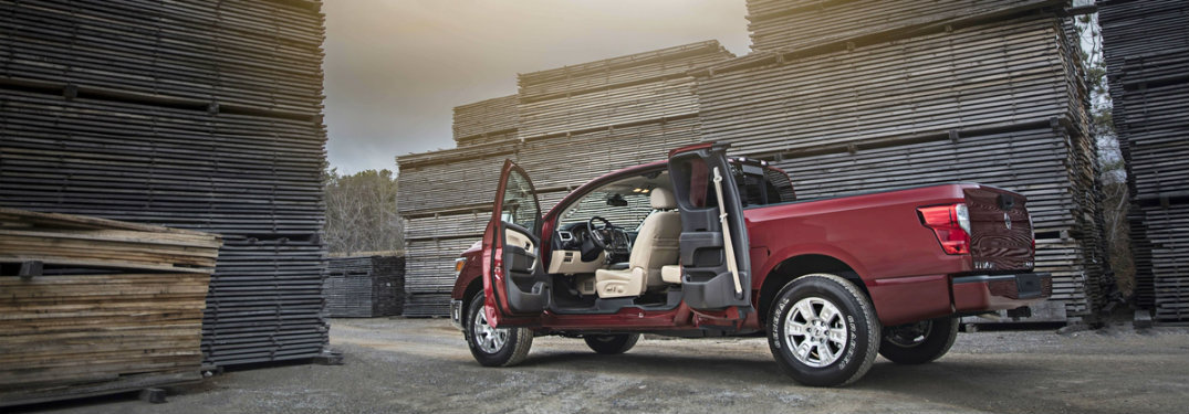 How does the King Cab option compare to other Nissan Titan cabins?