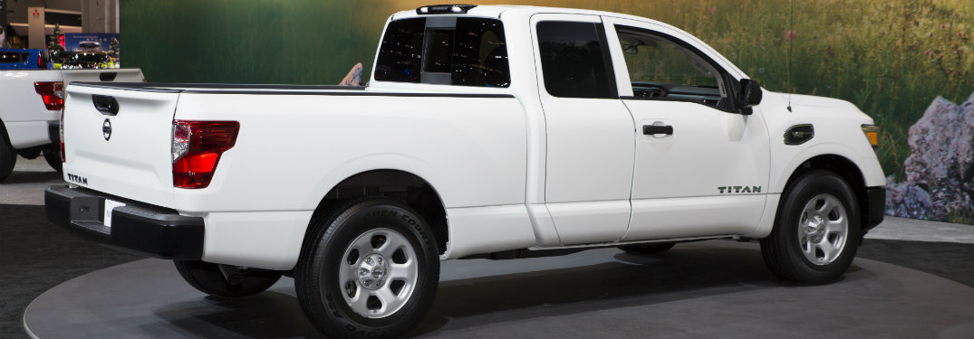 Official 2017 Nissan Titan King Cab Pricing