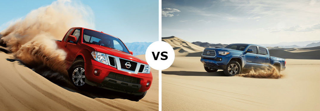 Does the 2017 Nissan Frontier compare to the 2017 Toyota Tacoma