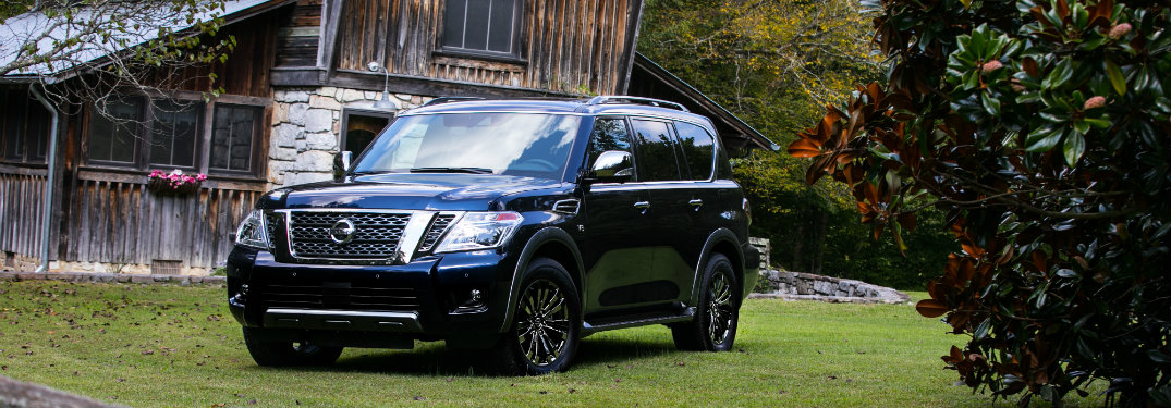 What's included with the 2018 Nissan Armada Platinum Reserve?