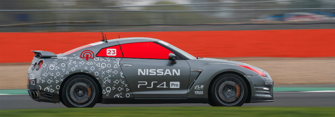 Remote-Controlled Nissan GT-R Gran Turismo Sport