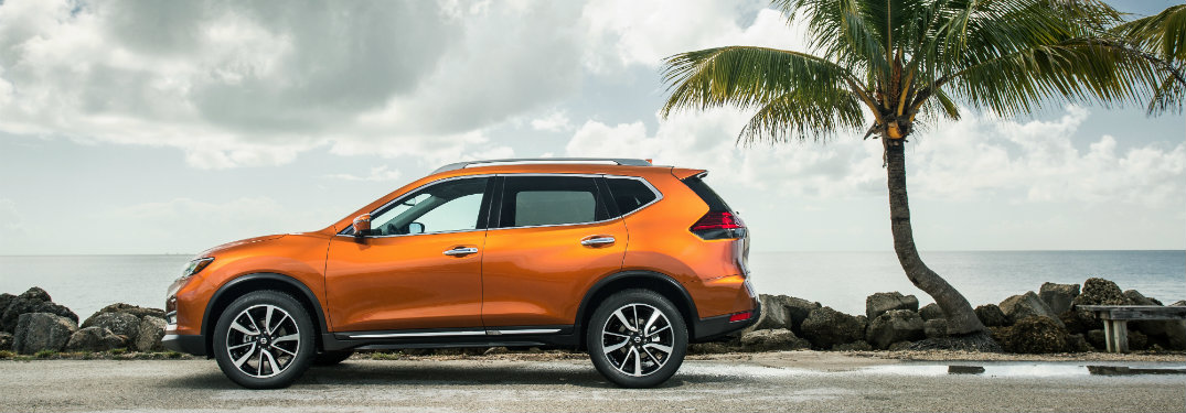 2018 Nissan Rogue Color Options