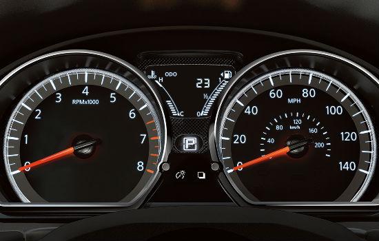 nissan versa gas gauge 2017