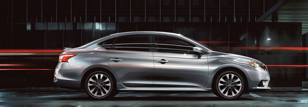... 2018 Nissan Sentra Silver Side Profile