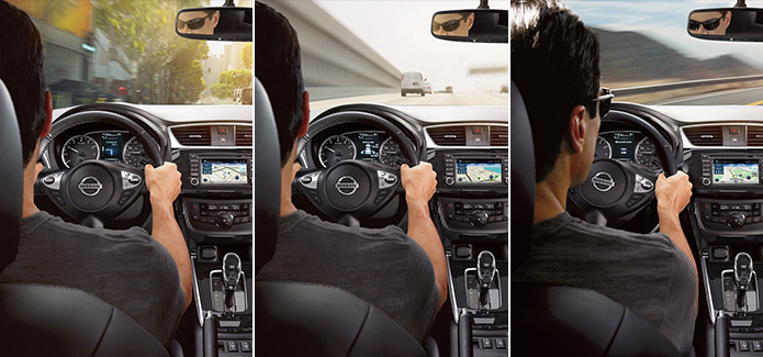 Difference between Nissan Eco, Normal and Sport driving modes