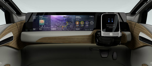 Nissan IDS concept self-driving car interior