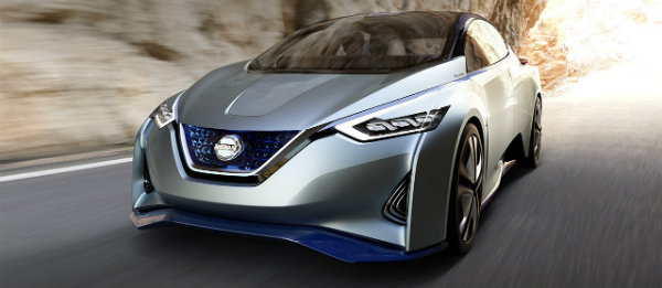 Nissan IDS concept self-driving car front end