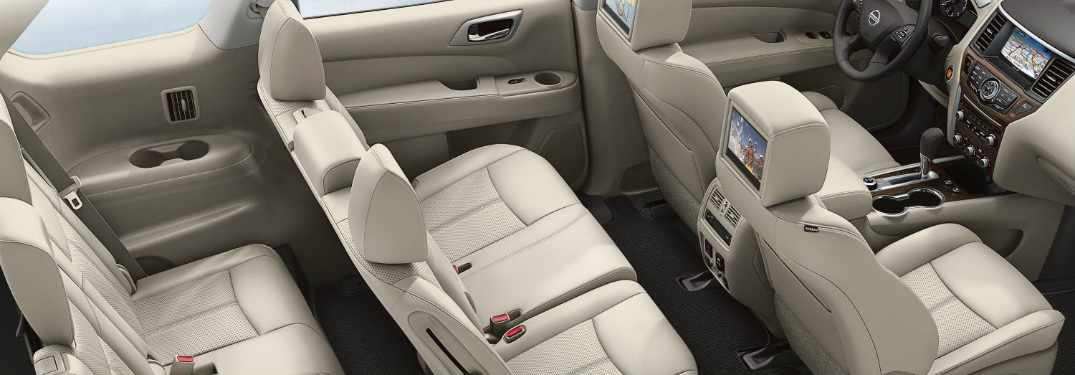 cargo space in the 2018 nissan pathfinder. Black Bedroom Furniture Sets. Home Design Ideas