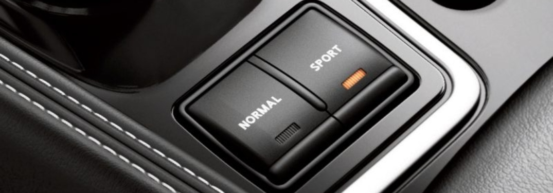 Normal and Sport Mode buttons in the 2018 Nissan Maxima