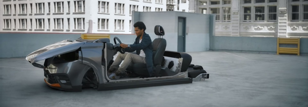 ... Man Sitting In Unfinished Nissan Kicks In New Commercial