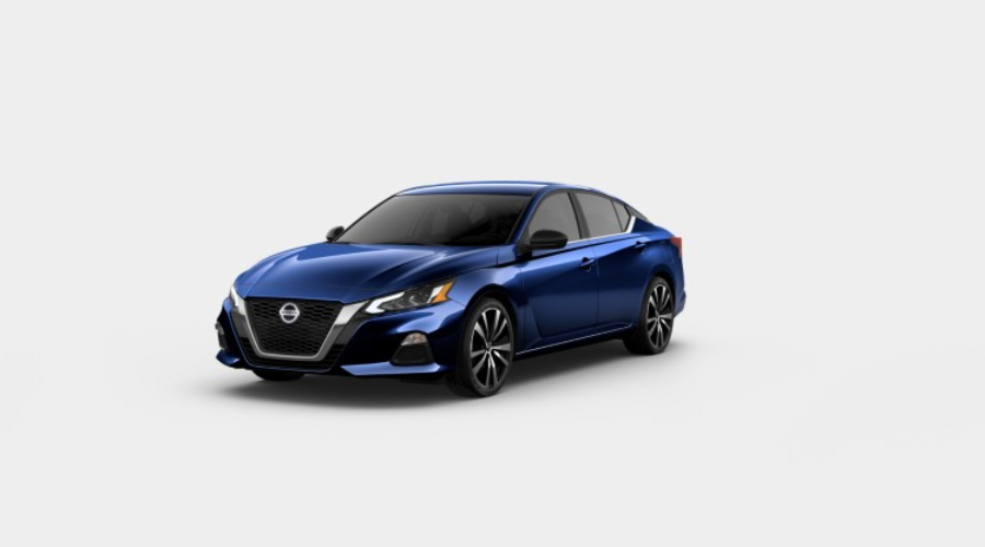 2019 Nissan Altima in Deep Blue Pearl