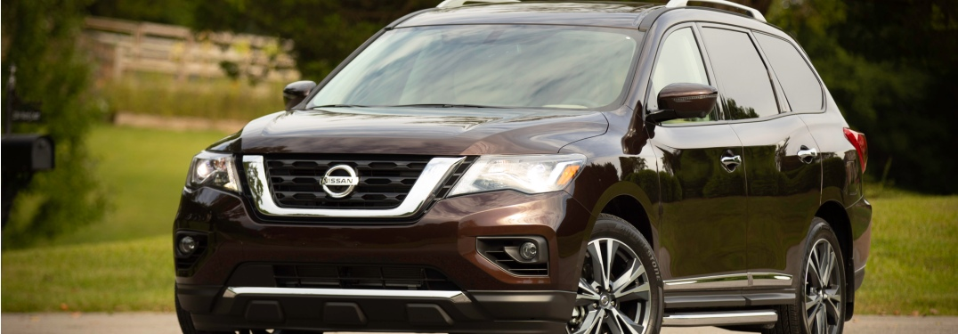 Front view of a 2019 Nissan Pathfinder