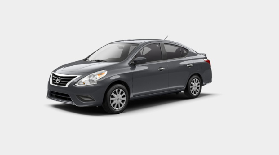 2019 Nissan Versa in Gun Metallic
