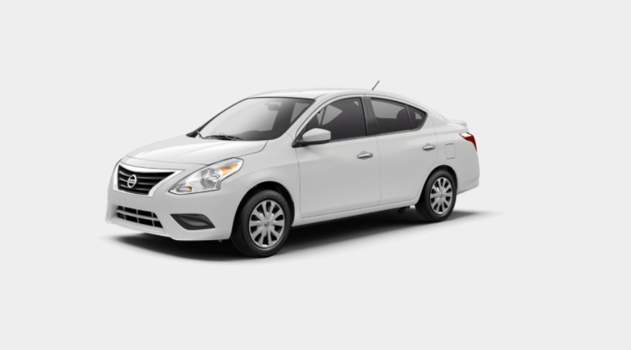 2019 Nissan Versa in Fresh Powder