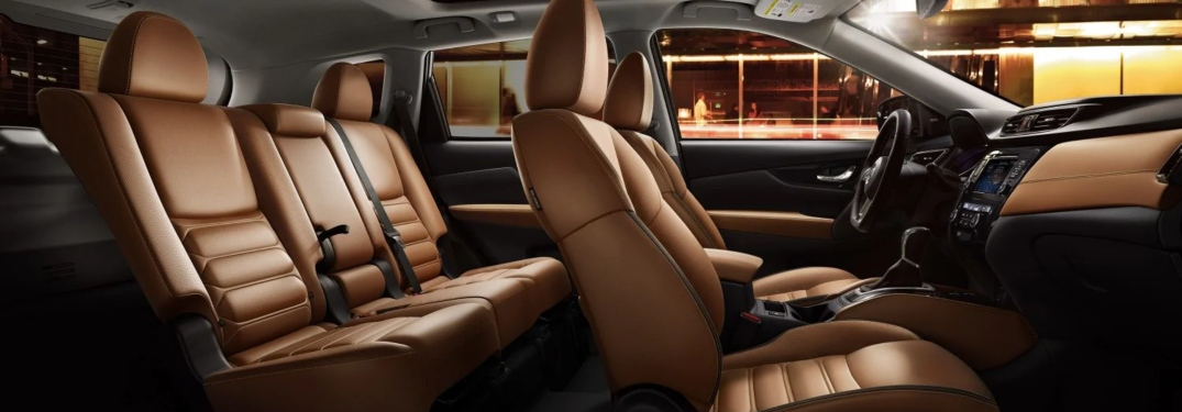 Nissan Rogue Seating >> Cargo Space In The 2019 Nissan Rogue