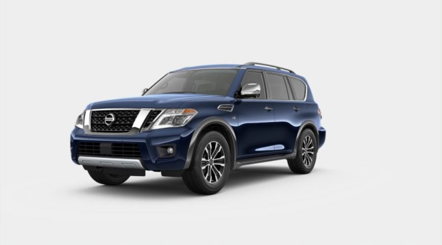 Color Options for the 2019 Nissan Armada