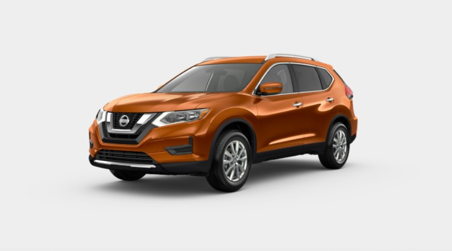 2019 Nissan Rogue in Monarch Orange Metallic
