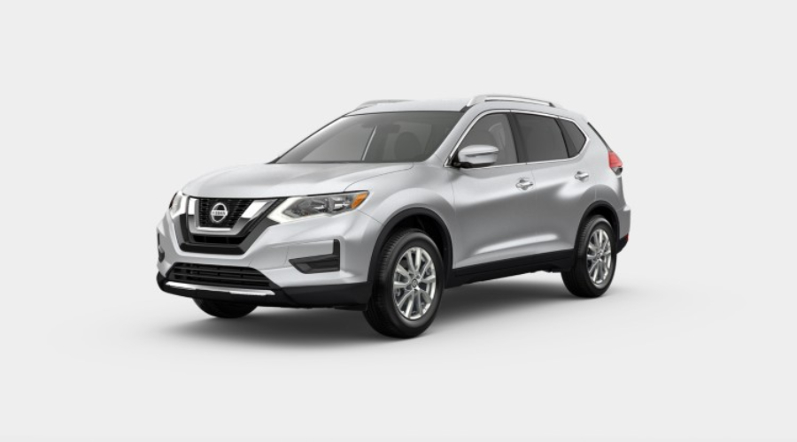2019 Nissan Rogue in Brilliant Silver Metallic