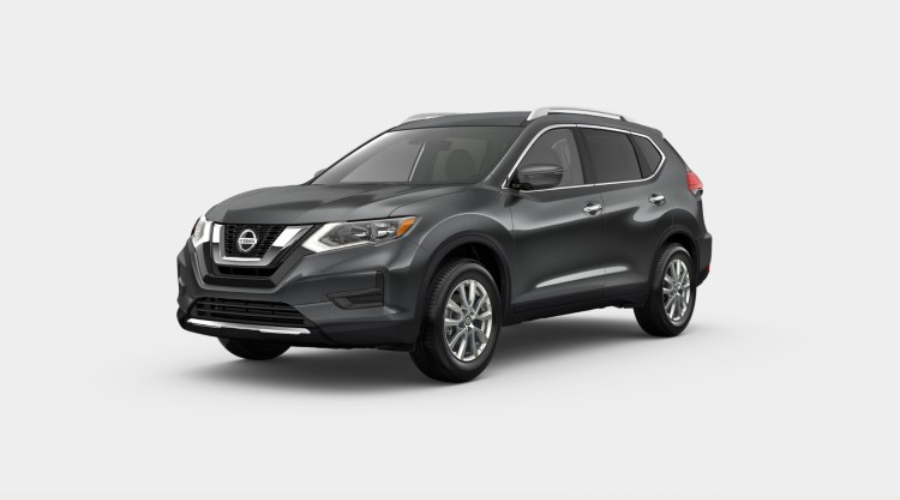2019 Nissan Rogue in Gun Metallic