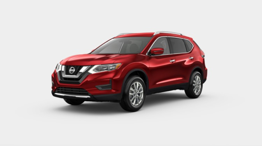 2019 Nissan Rogue in Scarlet Ember Tintcoat