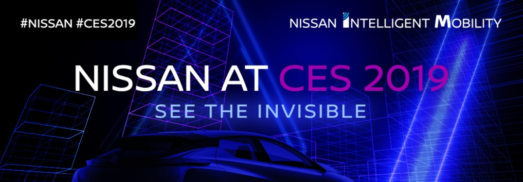 Nissan flier ad for CES 2019