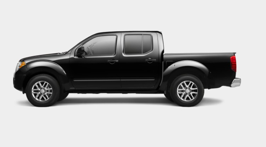 2019 Nissan Frontier in Magnetic Black Pearl